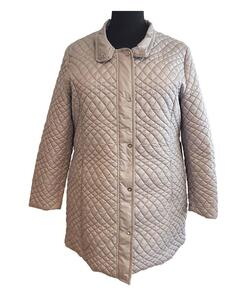 bebc2437 Klassisk quiltet grå jakke - Loft Fashion
