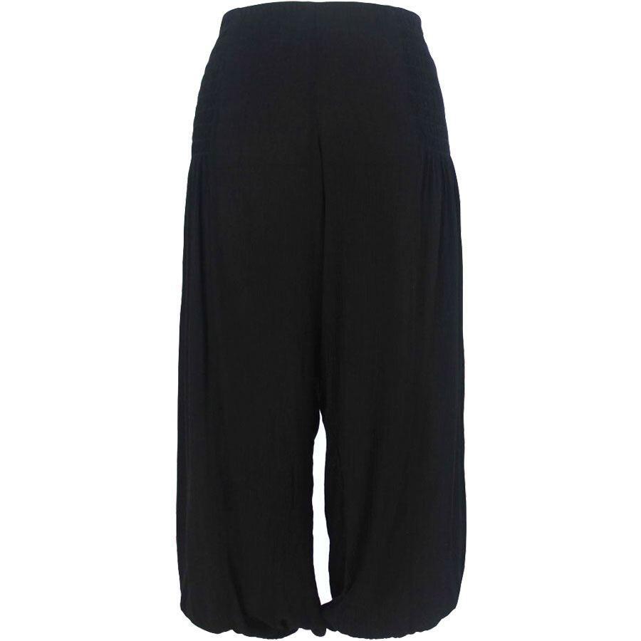 2a61e4e6e Sorte bukser i crepestof - Gozzip