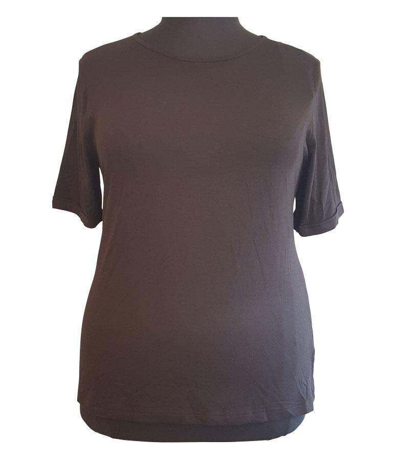 77979295 Sort Starlet T-shirt (K/Æ) - Modest - Str. 42 til 48