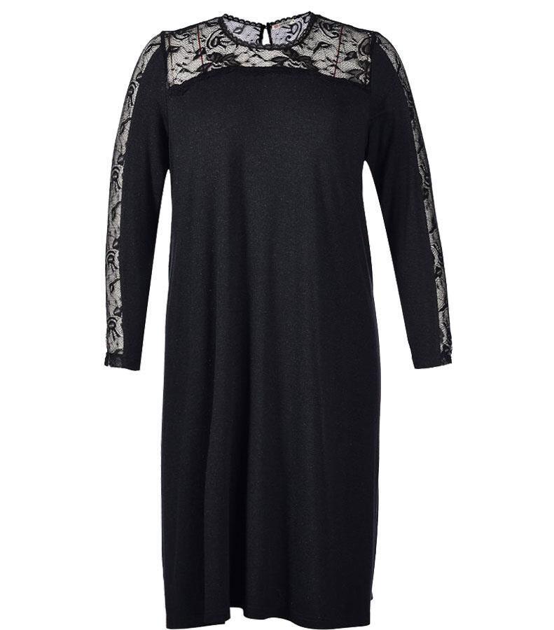 ef76c5390f97 Sort kjole a facon