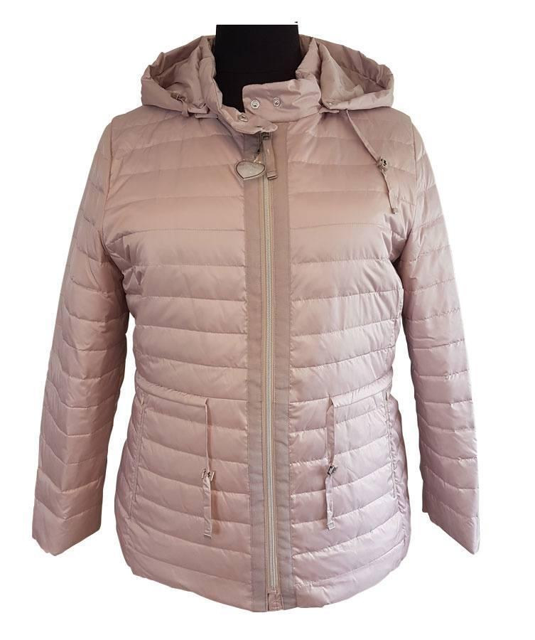 bff2820d Rosa jakke m. aftagelig hætte - Loft Fashion (9250 1242)