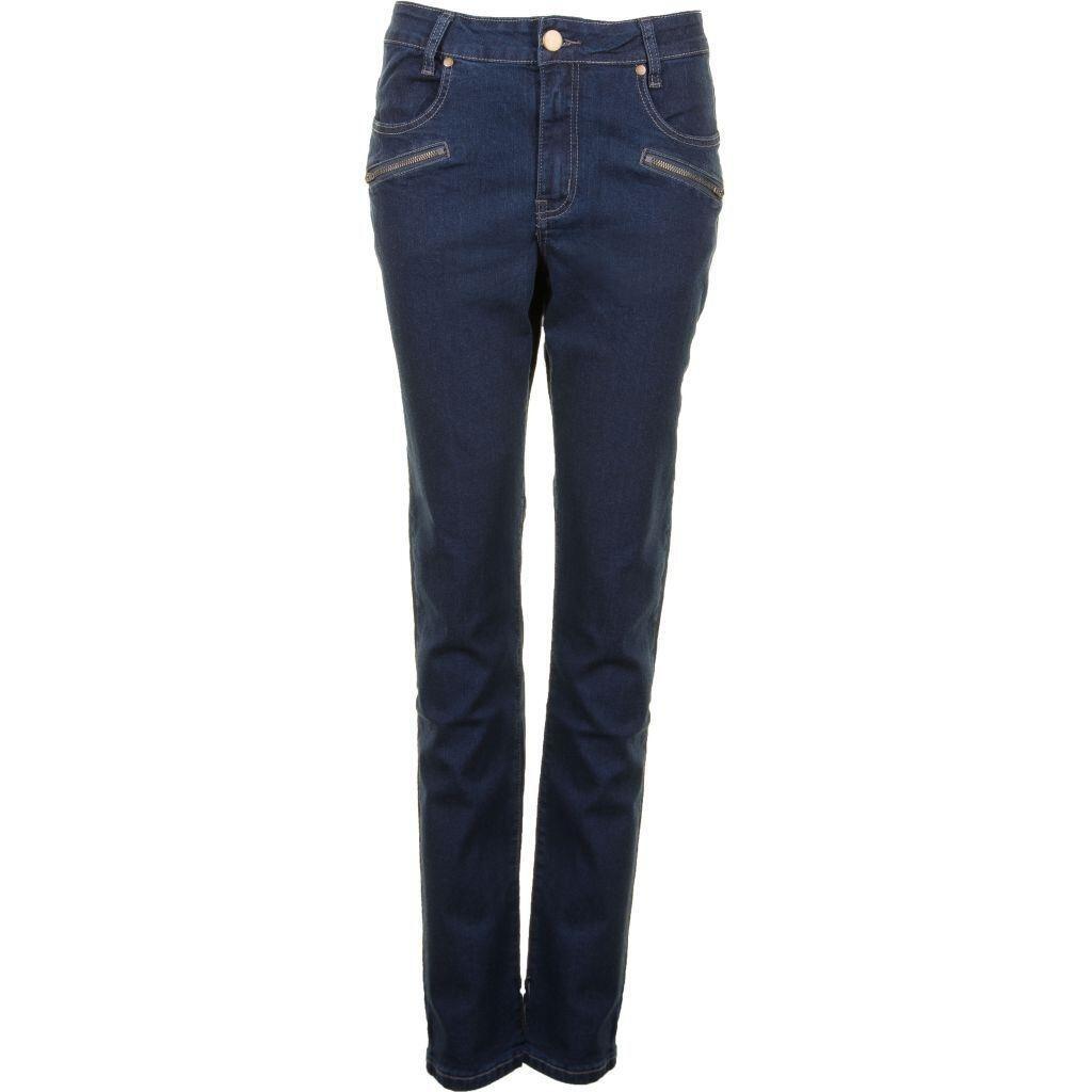 bbdc3bec Blå lettere stenvaskede jeans (Fit 40) - Studio S2753