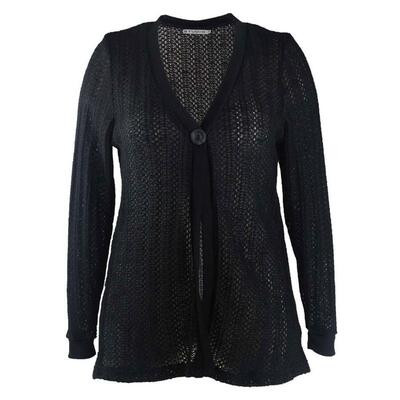 Studio Cardigan (Sort)