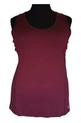 Aubergine Studio Gym Top