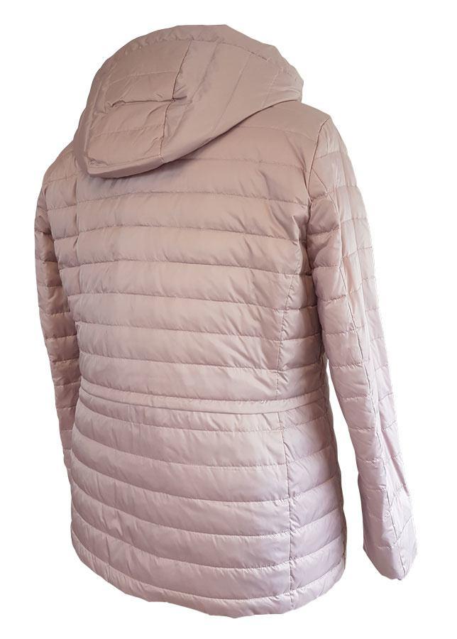 Rosa jakke m. aftagelig hætte Loft Fashion