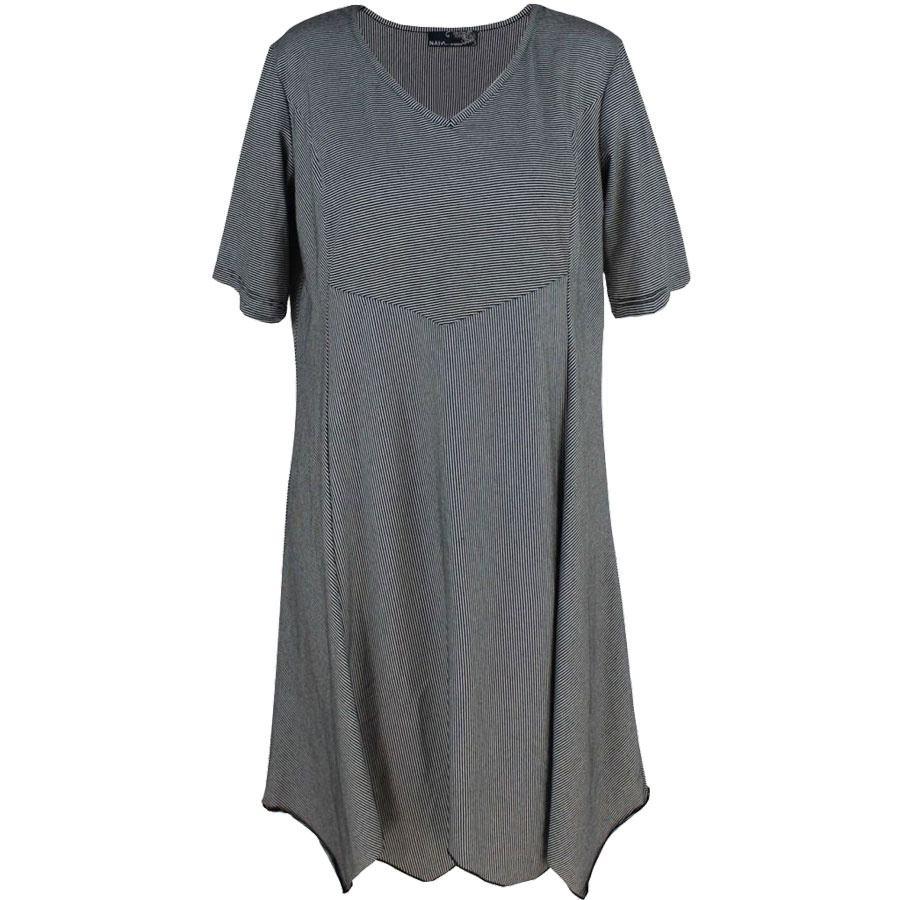 6a678323 Näis knælang kjole (Grå) (Farve: Grå, Kvindestørre.