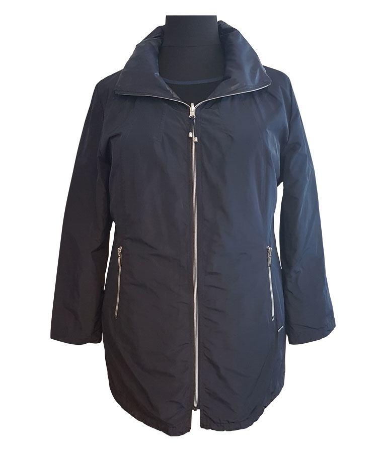 4c1eb8a5 Navyblå jakke - Vendbar - Loft Fashion (Farve: Nav.